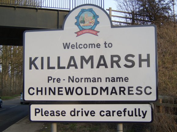Killamarsh Sign